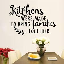 Kitchen Quotes Wall Decals Dining Room Home Decor Vinyl Nursery Interior Waterproof Wall Stickers Resturant Art Decoration Y957 Wall Stickers Aliexpress