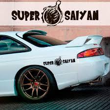 Buy Super Saiyan God Goku Blue Z Gt Super Anime Manga Car Vinyl Sticker Decal