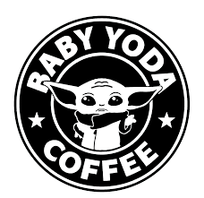 Star Wars Baby Yoda Coffee Die Cut Vinyl Decal Sold By Sadiesvinyl On Storenvy