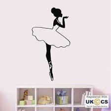 Wall Stickers Dance Athlete Girls Bedroom Fitness Ballet Art Decal Vinyl Room Home Garden Decor Decals Stickers Vinyl Art