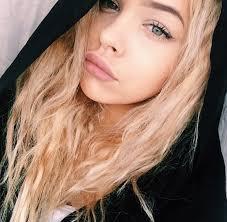 blonde blonde hair blue eyes