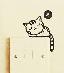Video The 10 Best Home Decor In The World On Youtube Light Switch Decal Switch Decals Cat Light