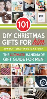 101 diy gifts for him the
