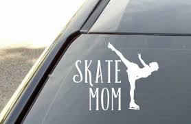 Ice Skating Vinyl Decal Sticker For Car Window Laptop Etsy