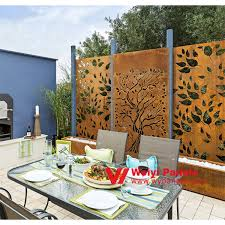 Decorative Modern Laser Cut Used Aluminum Fence Prices For G