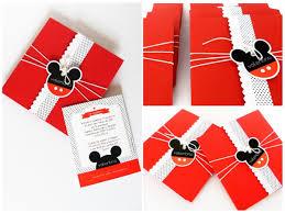 Tarjeta Invitacion Para Cumpleanos Mickey Mouse 2 800 En