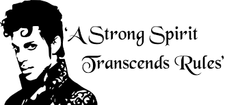 Prince Inspired A Strong Spirit Transcends Rules Vinyl Decal Sticker 6 H X 12 9 W White Vinyl Decal Stickers Vinyl Decals Vinyl