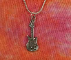 whole guitar necklace pendant