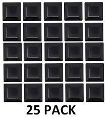 6x6 Plastic Fence Post Caps Black 5 5 8 X 5 5 8 Jsp Manufacturing