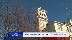Increase in reports of sexual misconduct at USU, but administrators say  they're grateful students are coming forward
