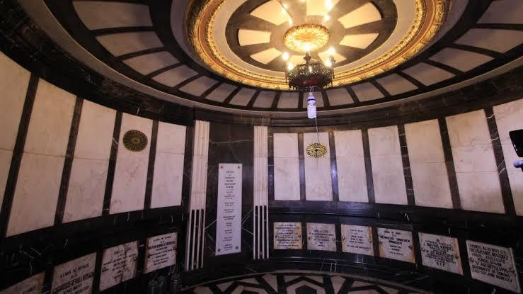 Cripta de los Obispos en Puebla
