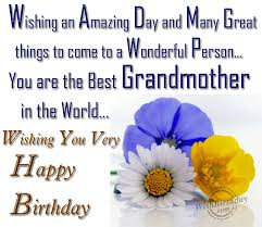 quotes about grandmothers birthday quotes