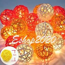 Thailand 5m 20 Rattan Led String Lights Sepak Takraw Lights Garlands For Hotels Fence Beach Wedding Christmas Party Decorations Light Garland String Lightsled String Lights Aliexpress