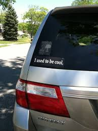 Appropriate Mini Van Bumper Sticker Is Appropriate Imgur