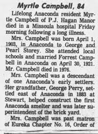 Myrtle Campbell Obit 1987 A - Newspapers.com