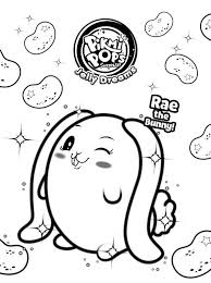 Kids N Fun Kleurplaat Pikmi Pops Cute Bunny Pikmi Pops