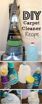 18 homemade carpet cleaning solutions