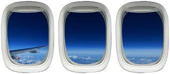 Amazon Com Plane Window Decal Airplane Wing Stickers Clouds Wall Art Vwaq Ppw26 Home Kitchen