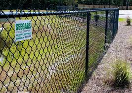 Seegars Fence Company Columbia Privacy Chain Link Fence Installation