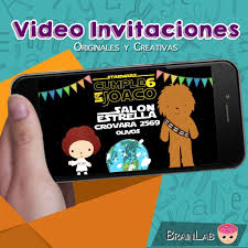 Video Invitacion Star Wars Para Enviar Por Whatsapp 500 00 En