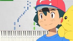 Pokémon Sun & Moon OP 4 - Kimi no Bouken / Your Adventure (Piano ...