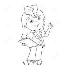 Bộ tranh tô màu bé làm bác sĩ dễ thương nhất
