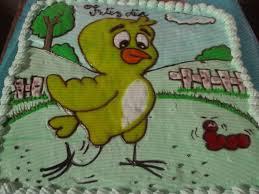 torta mi pollito amarillito de la