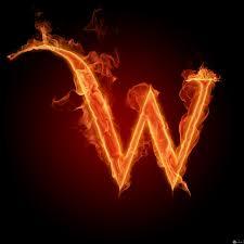 اجمل الصور حرف W بشكل جديد و مميز