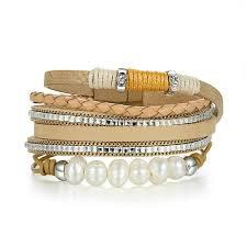 vine leather bracelet women