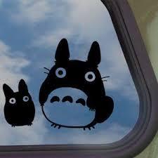 Totoro Black Decal Studio Ghibli Car Truck Window Sticker Avery Dennison Http Www Amazon Com Dp B007dcdjyc Ref C Truck Window Stickers Window Stickers Totoro