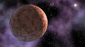 the dwarf planet and plutoid makemake
