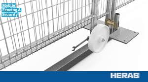 Assembly Sliding Fence Animation Heras Mobile Fencing Security Youtube