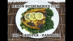 Lemon Butter Fried Fish Recipe - how to ...