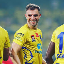 Kerala Blasters - Congratulations on an illustrious career, Aaron Hughes!  👏 Thank you for all the precious moments in Yellow and wishing you all the  best for your future endeavors 💛💙 #NammudeSwantham #KeralaBlasters |  Facebook