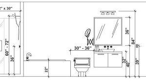 height standard bathroom vanity height