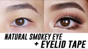smokey eye makeup for small hooded
