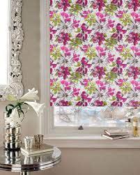 flower blackout roller blinds