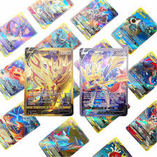 2020 New Pokemon Battle Game Card Vmax Card CARDS Card GX MEGA EX English  Version Kind Kids Toy Gift|