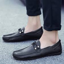 men loafers male leather shoes