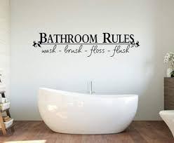 Amazon Com Artstickerscool Bathroom Wall Decal Bathroom Decor Bathroom Decoration Bathroom Rules Bathroom Decal Bathroom Decor House Warming Present Home Kitchen