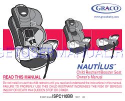 graco siège d auto nautilus ispc110bb