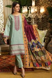 wear mughal art inspired 3 piece suit