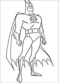 Kleurplaat Batman 75