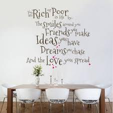 8 Most Inspiring Dining Room Wall Decal Ideas That You Need To Copy Freshouz Com Dining Room Decal Wall Decals Living Room Wall Quotes Decals Living Room