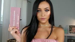 warm summer makeup tutorial modern