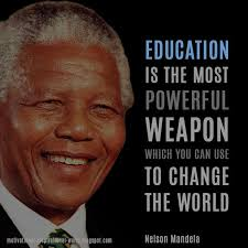 weapon nelson mandela education powerful weapon change nelson