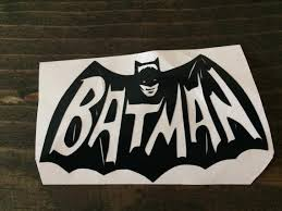 Batman Vinyl Decal Batman Sticker Vinyl Decals Vinyl Etsy