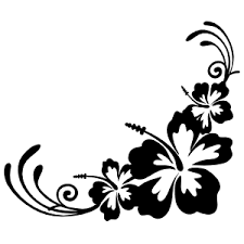 Hibiscus Flower Car Stickers Decals Over 80 Unique Designs