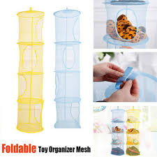 Tag Hanging Mesh Space Saver Bag Room Wall Organizer Toy Storage Basket Kids Us For Sale Online Ebay