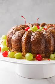 bacardi rum cake the blond cook